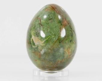 Fuchsite Specimen Polished Egg