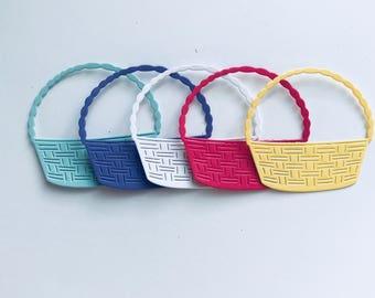 Basket Die Cuts Set 0f 8