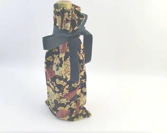 Wine Gift Bag, Grapes Wine Bag, Vinegar Gift Bag, Wine Gift, Grapes Bag, Grapes Gift Bag, Fabric Gift Bag, Handmade Gift Bag
