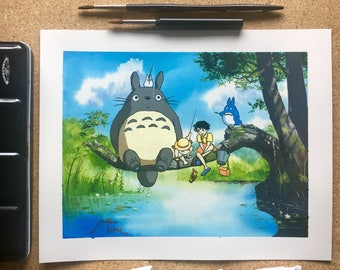 My Neighbour Totoro limited edition Giclee Print