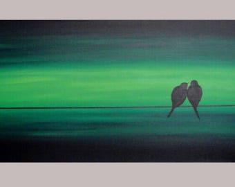 Lovebirds-Green