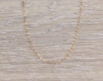 14k Gold Necklace, 14k Choker, Gold Necklace, Gold Chain Choker