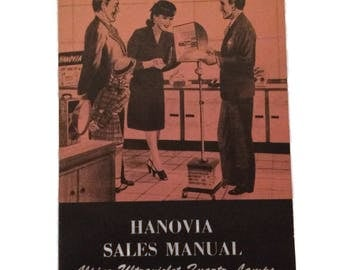 Vintage Hanovia Alpine Lamp Sales Manual Ultraviolet Quartz Lamps chemical manufacturing co Newark