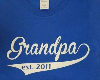 Grandpa-Dad-Fathers Day shirt