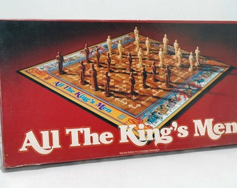 All the King's Men Board Game Parker Brothers 1979 COMPLETE (read description)