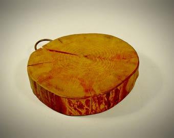 Vintage Log Slab Serving Tray Cutting Board