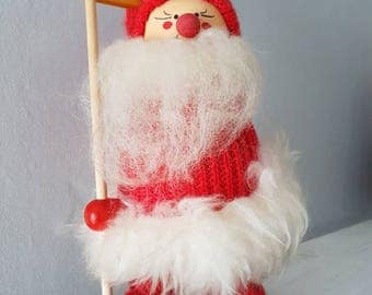 Christmas figurine little santa Claus / brownie / gnome from Sweden