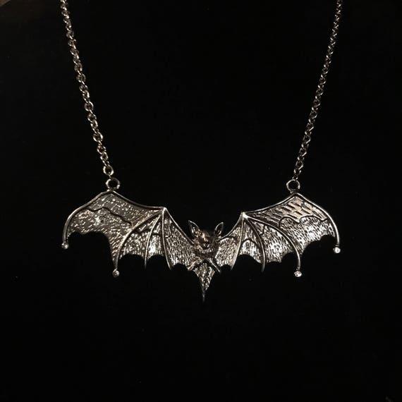 Vampire Bat Neklace