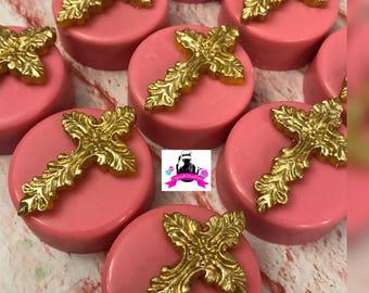 chocolate covered Oreos royal paint baptism princess princess