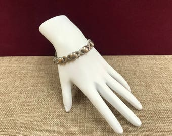 Vintage 925 Sterling Silver Hugs And Kisses XOXO  Bracelet!!!  Free US Shipping!!!