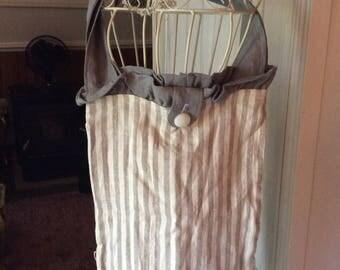 ruffled bag/tote
