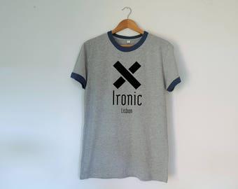 Ironic Retro Unisex Tshirt