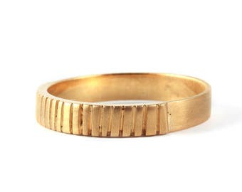 mens wedding bands men wedding ring gold mens ring wedding bands for men - Gold Wedding Rings For Men