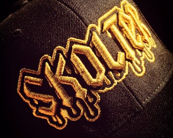 Limited edition Dripping Gold snapback