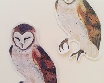 Barn Owl Stickers