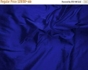 CHRISTMASINJULY SALE Royal Blue Pure Silk Dupioni Accent Pillow Cover with Piping or Flange - Custom made -  Fabric Code - SLDP23