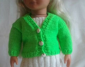 dolls dress and jacket