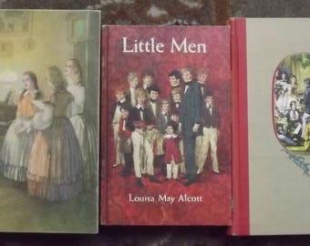 Little Women, Little Men, Jo's Boys, Louisa May Alcott, Illustrated Junior Library