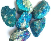 Pyrit Buntkupfer-Kristall
