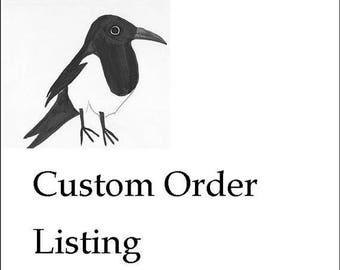 Custom Listing for Cheyenne Botanical Gardens
