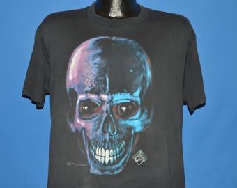 80s Headbone Graphics Skull X-Ray t-shirt Large
