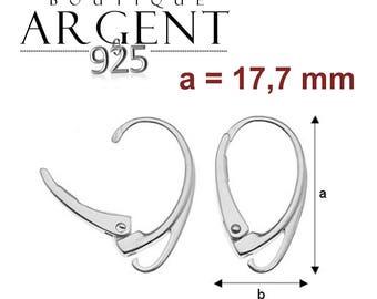 Set of 2 Stud Earrings / 925 sterling silver ear