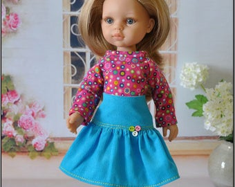 outfit for doll Paola Reina