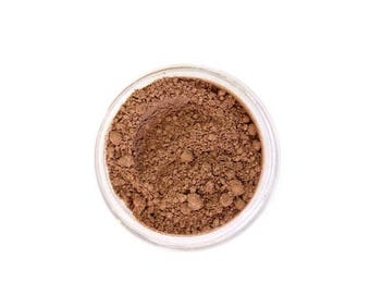 SALE Warm Maple - Natural Mineral Foundation - Medium Tan Nuetral Tone Foundation - Vegan Cosmetics