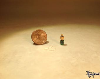 Miniature Kokeshi Made of wood - Item Number K20