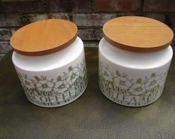 Vintage Tea and coffee pots 1970s