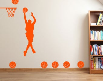 Basketball Player Hoop A36