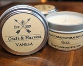 Soy Candle - Vanilla