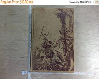 10% OFF 3 day sale Vintage Jungle Tales Of Tarzan Book By Edgar Rice Burroughs ©1919 Used