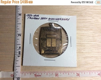 10% OFF 3 day sale Vintage Fob Talman 50th Anniversary 1972 Used