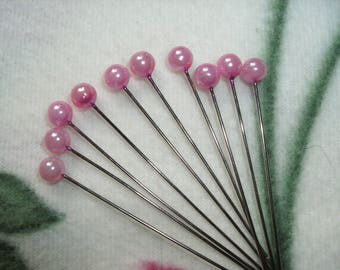 Pins, beads, 10 pieces (188)
