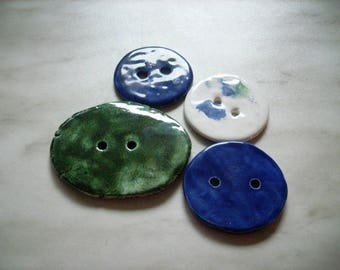 4 buttons, ceramic  (851)