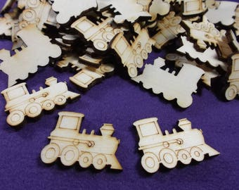 84 railroads, timber, 3.5 x 2 cm, *** B *** Quality (1053)