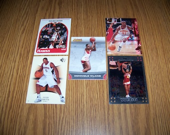 25 Atlanta Hawks Basketball Cards