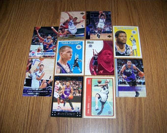 50 Sacramento Kings Basketball Cards