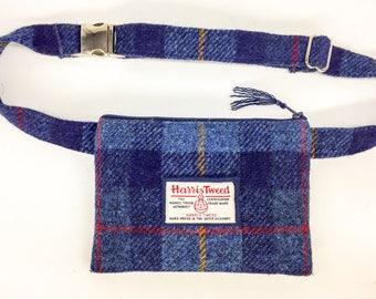 Harris tweed money belt / bum bag / fanny pack