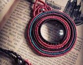 Loupe Necklace, Magnifyin...