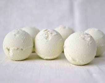 Coconut Lime Bath Bombs, set of 6