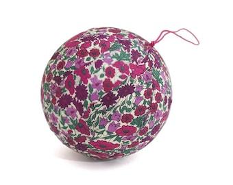Cloth Liberty Petal and Bud Apple ornament
