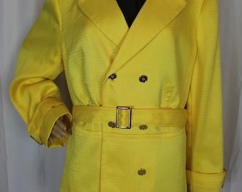 Vintage yellow tahari jacket 18W