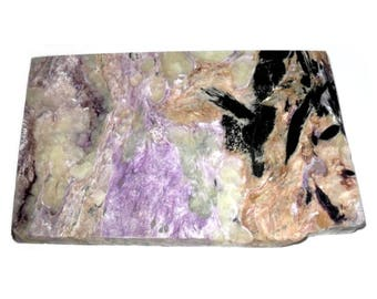 Charoite Slab Specimen Russian Siberian Stone