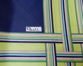 """Paoli Striped Scarf, 27"""" x 27"""""""