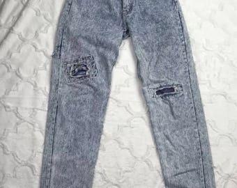 High Waist Acid wash Mom Jordache mom jeans 9/10 ~H
