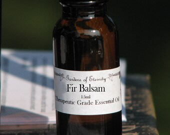 Fir Balsam Essential Oil