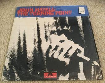 John mayall The Turning Point Vinyl Record Lp album rock n roll blues in shrink