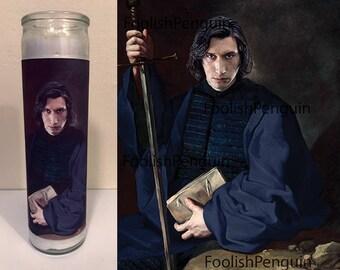 Kylo Ren Devotional Candle